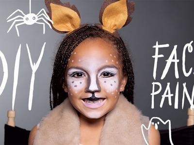 Fawn Makeup - Halloween Face Paint