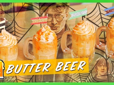 Harry Potter Butterbeer Cupcakes! | Cooking | Strawburry17