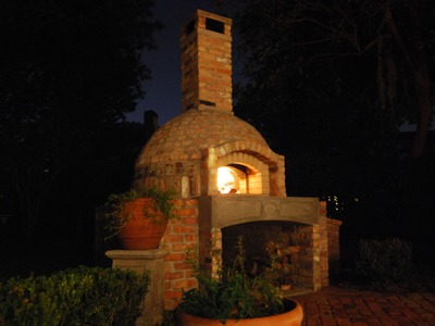 How to Build a Brick Wood Fired Pizza Oven.Smoker Combo - Full Video