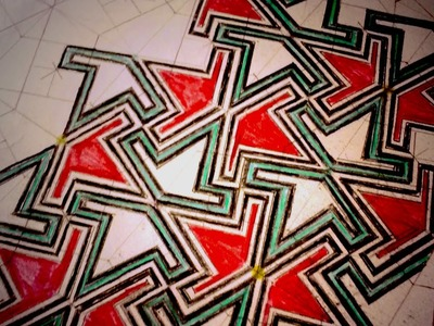 How To Draw Geometric Patterns - Moorish Wedge Tiling