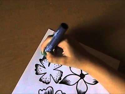 How To  Draw Tropical  Flowers. 4 ways