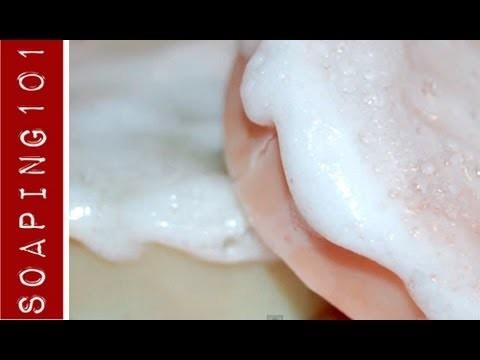 How to Formulate Shaving Soap {for men + women}