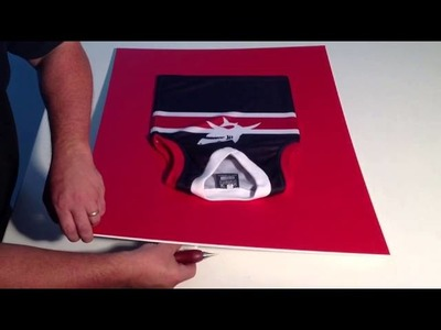 How To Frame A Football Top