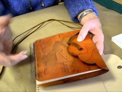 How to make an Embossed Leather Journal Online Class