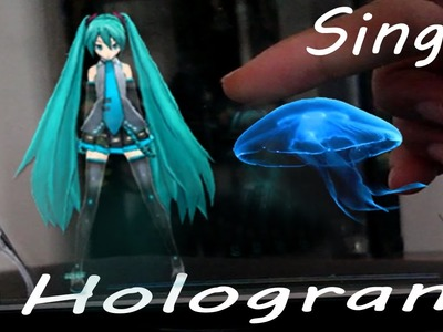 How to make Hologram - 3 different ways