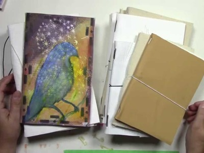 How to:  Modified Midori Style Journals for 365 Art a Day Project
