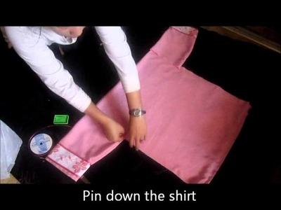 How to sew Hmong Shirt 2