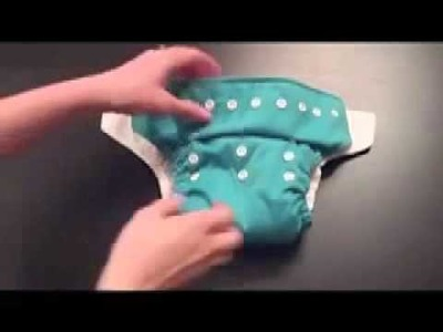 How to use a Pocket Cloth Diaper Video