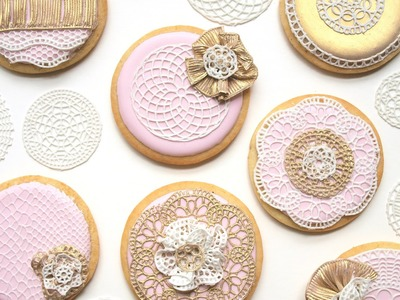 How To Use SugarVeil® Icing To Decorate Wedding Cookies