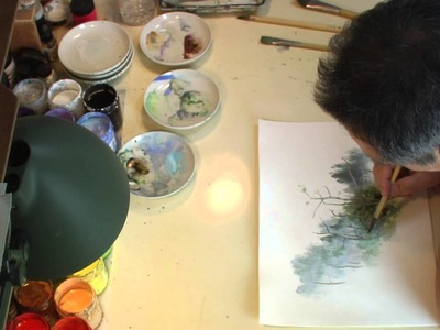 Kazuo Oga ( 男鹿 和雄 ) - At the Master's Workshop