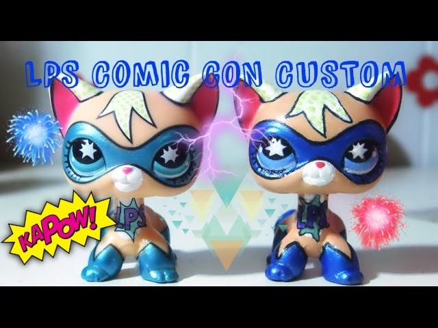 LPS: Comic Con Cat Custom