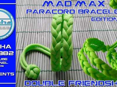 Mad Max Edition Paracord Bracelet Double Friendship