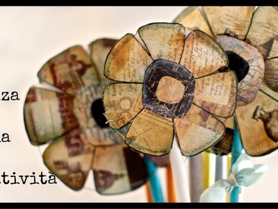 Mixed media project: vaso ikea decorato. ikea jar decorated