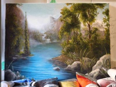 Painting Water Between The Trees - Ryan O'Rourke