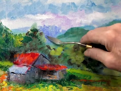 Palette Knife Painting - (How To)