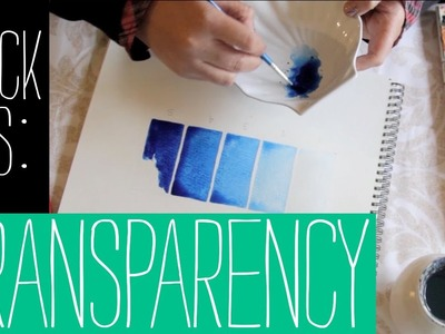 Quick Tips for Beginners - Transparency and Opacity