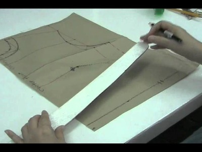 Simple and Easy - Drafting of LARGE Front Bodice Lesson 2-25 Part 1b