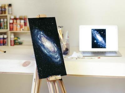 Spirit of Life   Galaxy Speed Painting   MarsupialPudding