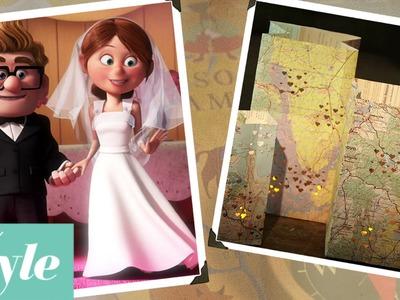 Up Adventure Map Luminaries | Disney Movie Night | Disney Style