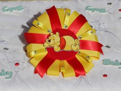 Winnie The Pooh Baby Shower Corsage