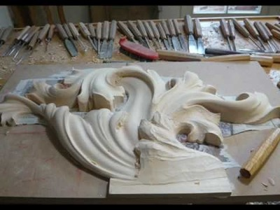 WOODCARVING | Heraldic Woodcarving | Family Coat of Arms carved in Wood | резьба по дереву