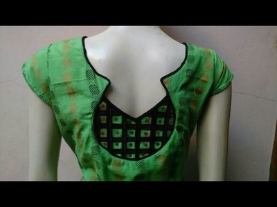 Back neck cutting and stitching  How to make back neck design for kameez