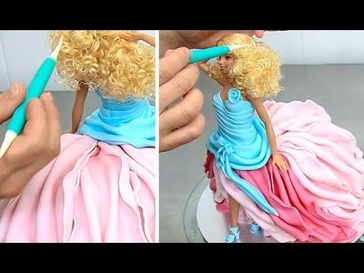 Barbie Fashion Doll Cake How To Make by Cakes StepbyStep