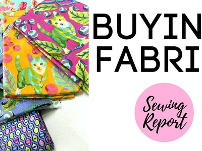 Buying Fabric | Online vs. Stores | How to Choose & Select Fabric | LIVE SHOW | SEWING REPORT