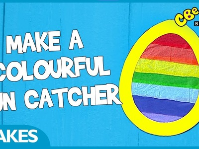 CBeebies Makes | How to make a colourful sun catcher