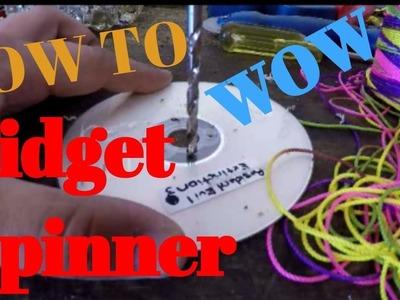 DIY FIDGET NO BEARING SPINNER | How To Make Hand Spinner Fidget Toys