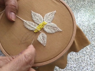 Hand Embroidery easy stitch how to make certain stitch