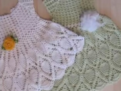 Knitting Patterns Baby Frocks : Knitting, Episode 3 eng: Benes Knitting, New Sweater Design for Kids in Hindi...