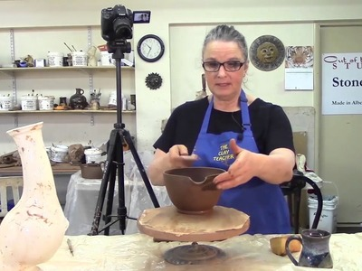 How I Make a Pottery Batter Bowl