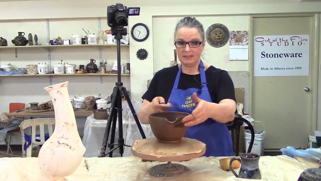 How I Make a Pottery Batter Bowl