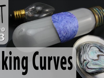 How-To Bake Curves Into Polymer Clay Pieces