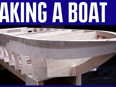 How to Build a Small Wooden Boat 13 Without Marine Plywood - The Steering Wheel