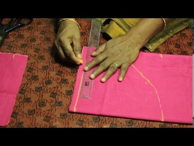 How to cut lining blouse cutting in tamil part 1