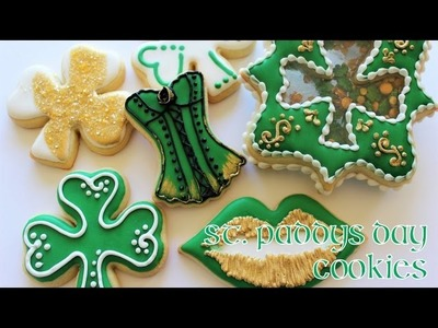 How To Decorate St  Paddys Day Cookies