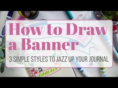 How to Draw a Banner - 3 Simple Techniques