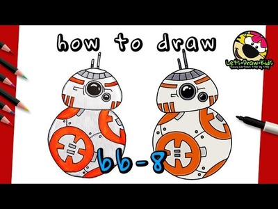 How To Draw BB-8 | STAR WARS