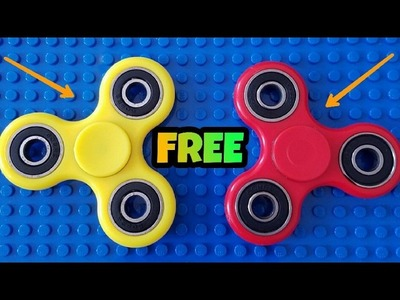 How To Get Free Fidget Spinner