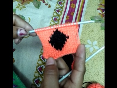 How to knit barfi wala design in Hindi - knitting pattern design | woolen sweater designs