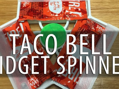 How to Make a 3D Printed Taco Bell Sauce Packet Fidget Spinner