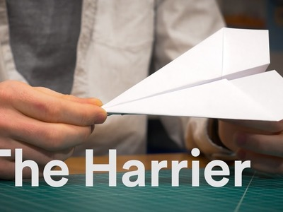 How to make a better paper airplane - 90 sec TUTORIAL