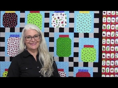How to Make a Bug Jar Quilt with lots of Tips