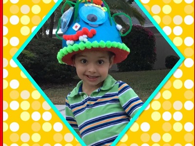 How to make a crazy hat ????. Crazy  Hat  idea  for  school . crazy hat day in school ???? DIY ????