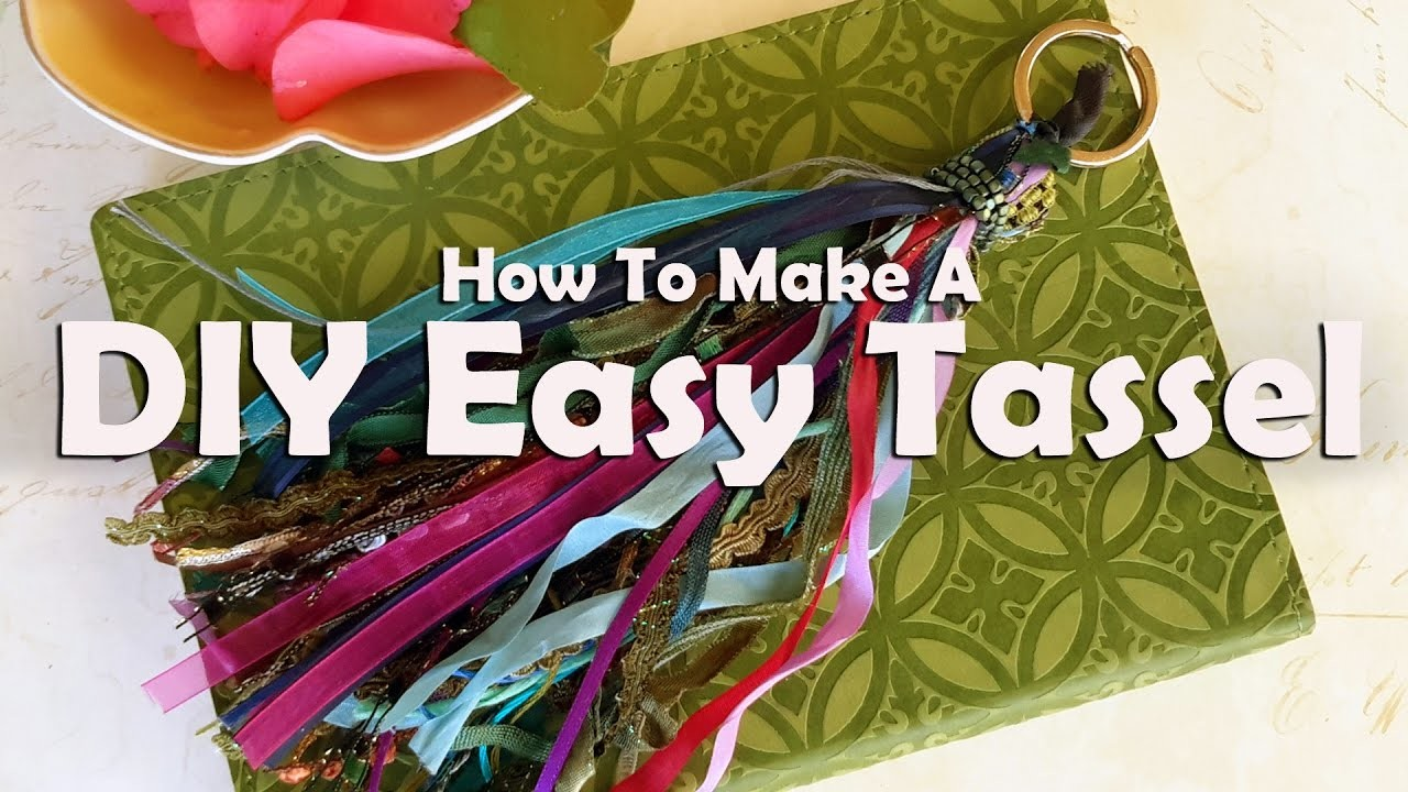 How To Make A DIY Easy Tassel