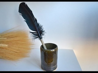 How to Make a Feather Quill Pen Tutorial