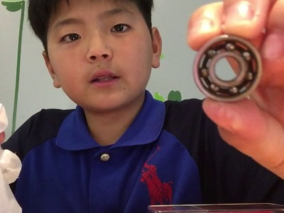 How to make a fidget spinner 50 times faster!