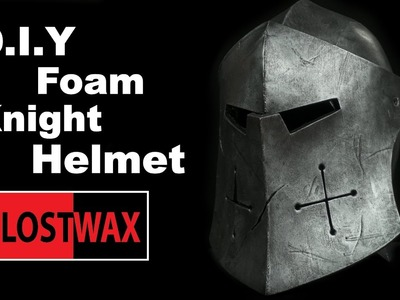 How to Make a Foam Knight Helmet! (For Honor Cosplay Pattern)